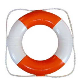 Swimming Life Buoy(white& red, green & purple)