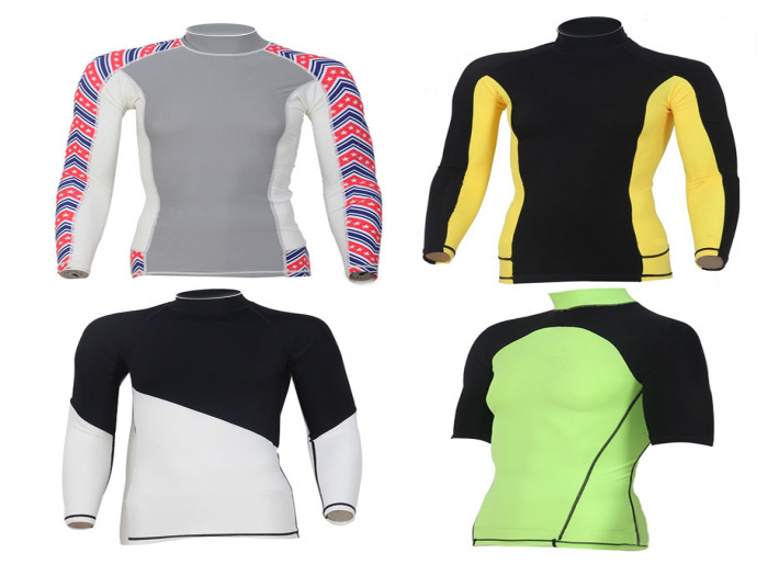 Lycra Rush Guard for Men & Women